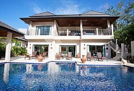Weaw Opal | 6 Schlafzimmer Pool Ferienhaus in Nai Harn Phuket