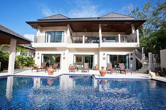 Аренда виллы на Пхукете: Waew Opal Villa, 6 Спален. 56218 бат в день