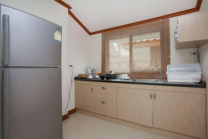 Kitchen Timberland Lanna Villa 403 in Pattaya