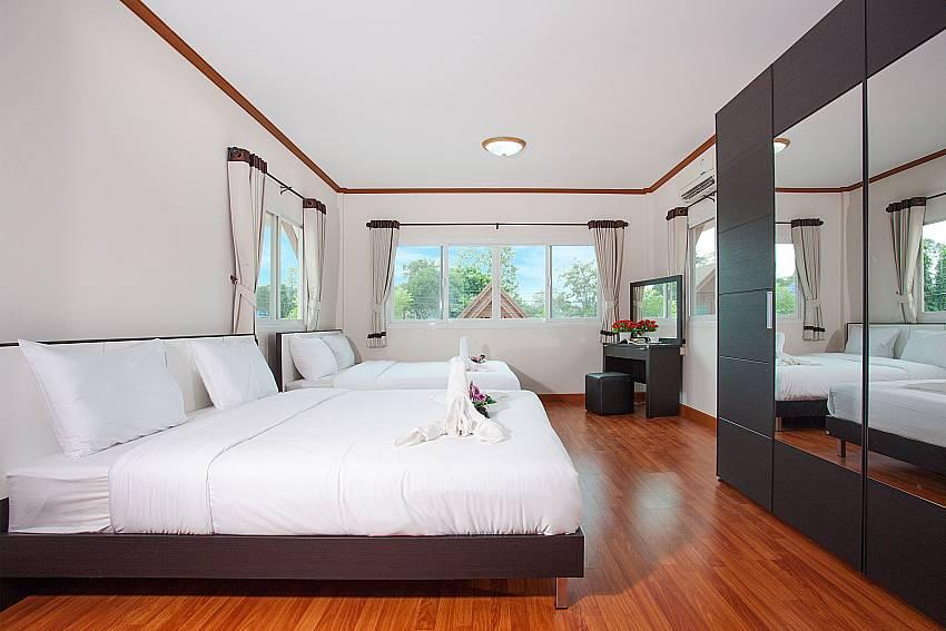 Bedroom Timberland Lanna Villa 403 in Pattaya