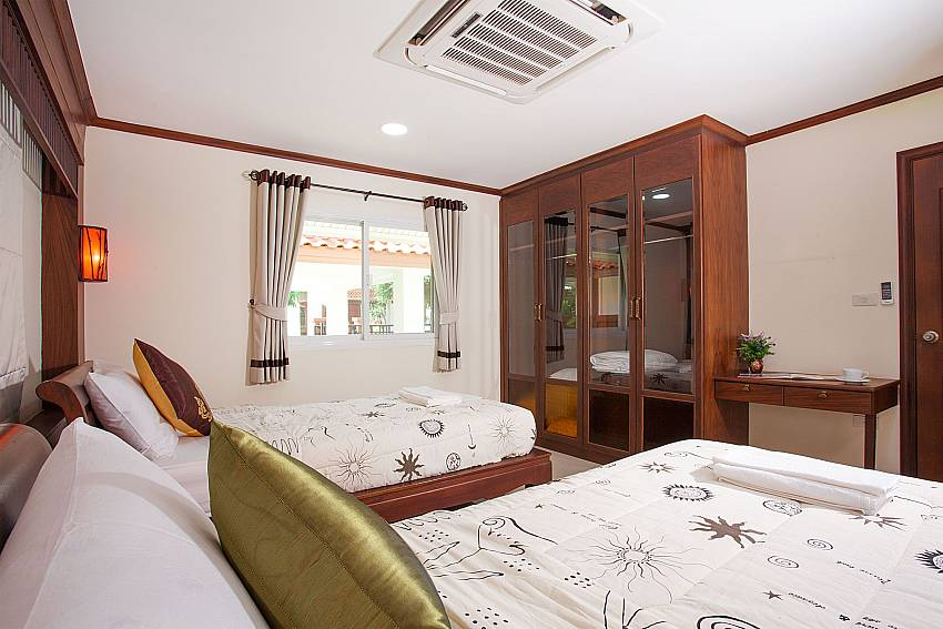 Bedroom Timberland Lanna Villa 404 in Pattaya