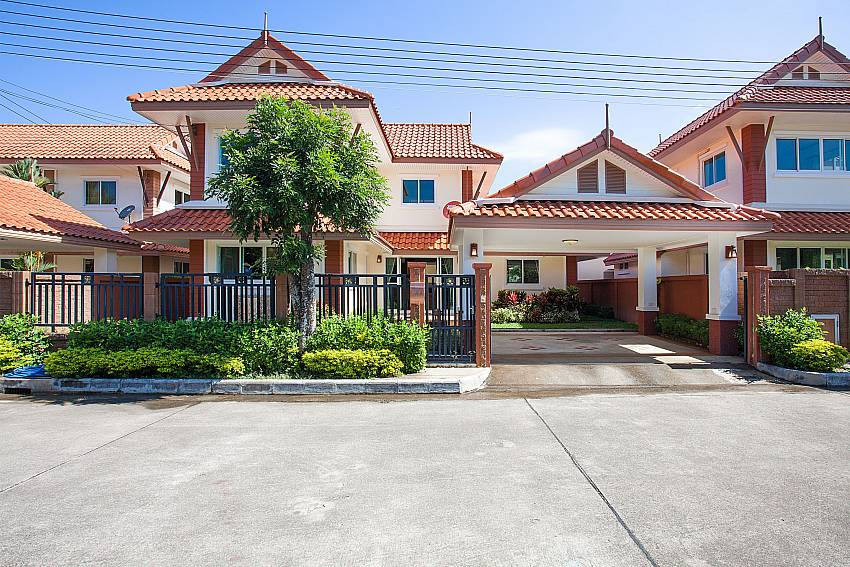 Front of property Timberland Lanna Villa 404 in Pattaya