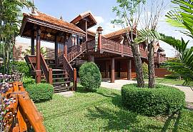 Timberland Lanna Villa 201 | 2 Bed Teakwood House in Bangsaray Pattaya