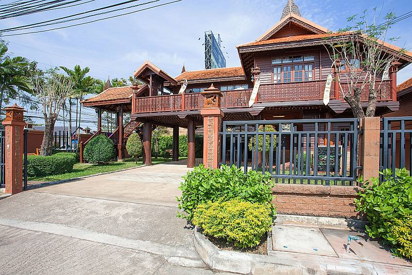 Front of property Timberland Lanna Villa 201 in Bangsaray Pattaya