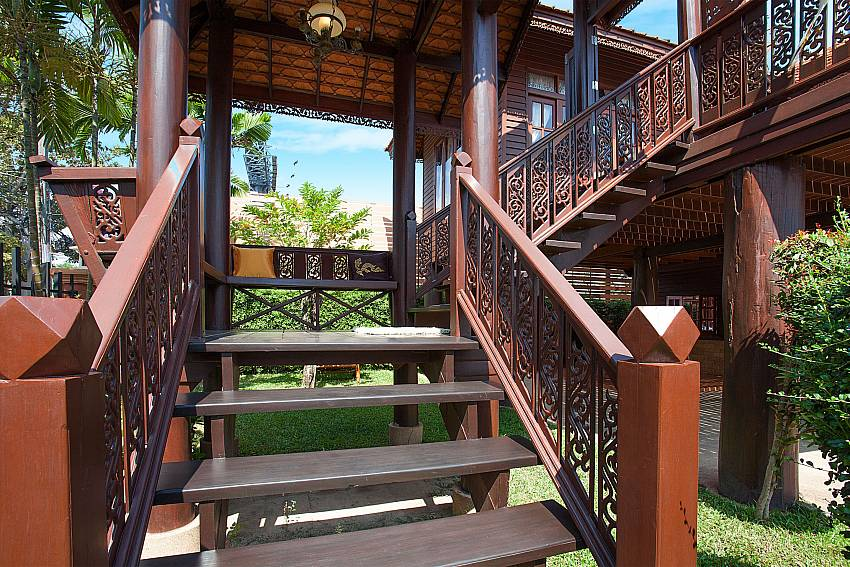 Stair Timberland Lanna Villa 201 in Bangsaray Pattaya