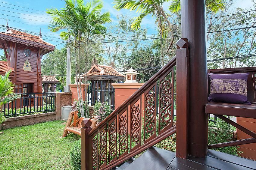 Garden Timberland Lanna Villa 201 in Bangsaray Pattaya