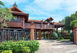 Timberland Lanna Villa 202 | 2 Bed Traditional Teakwood House in Pattaya