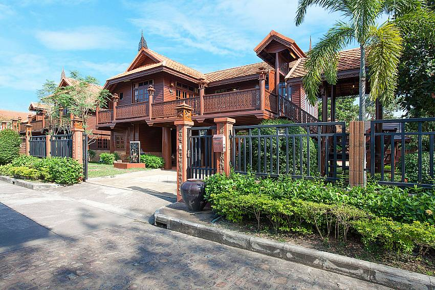 Front of property Timberland Lanna Villa 202 in Pattaya