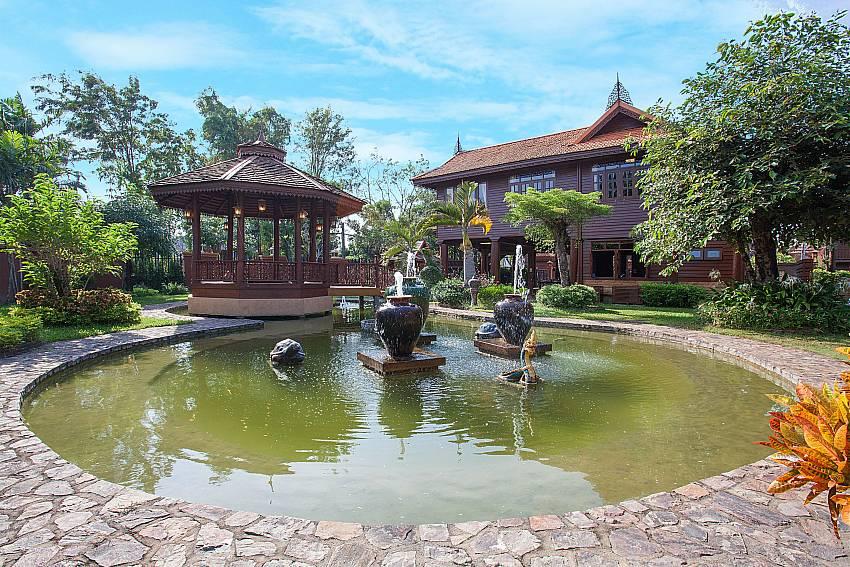 Garden Timberland Lanna Villa 202 in Pattaya