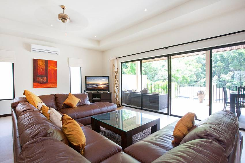 Upstairs Lounge-waew-opal_6-bedroom_private-pool-villa_nai-harn_phuket_thailand