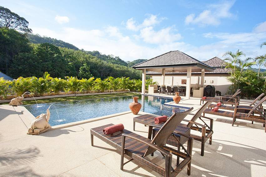 Sun Deck and Thai Sala-waew-opal_6-bedroom_private-pool-villa_nai-harn_phuket_thailand