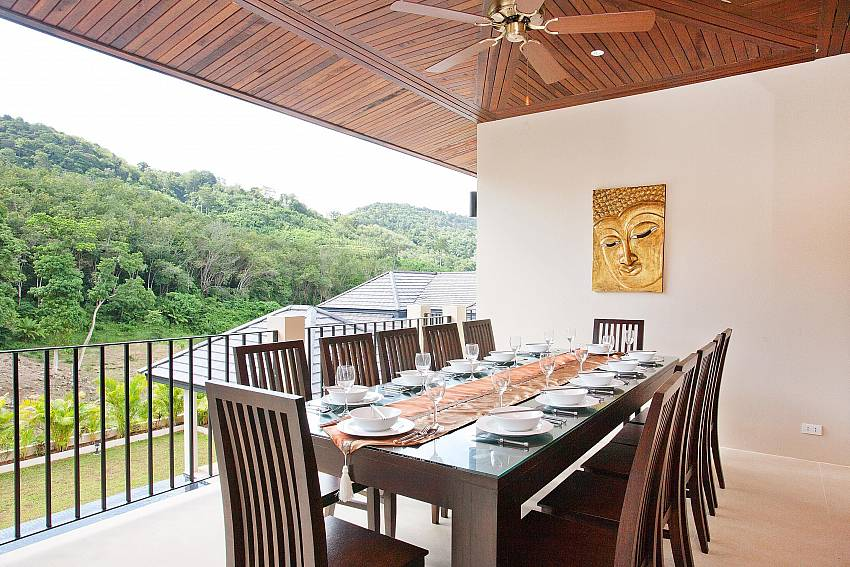 Upstairs Al Fresco Dining-waew-opal_6-bedroom_private-pool-villa_nai-harn_phuket_thailand
