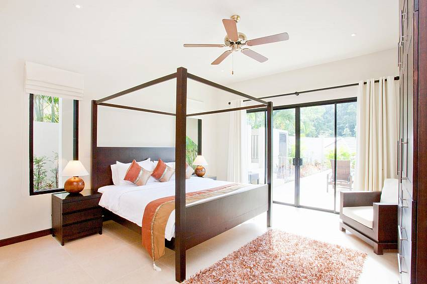Upstairs Master Bedroom-waew-opal_6-bedroom_private-pool-villa_nai-harn_phuket_thailand
