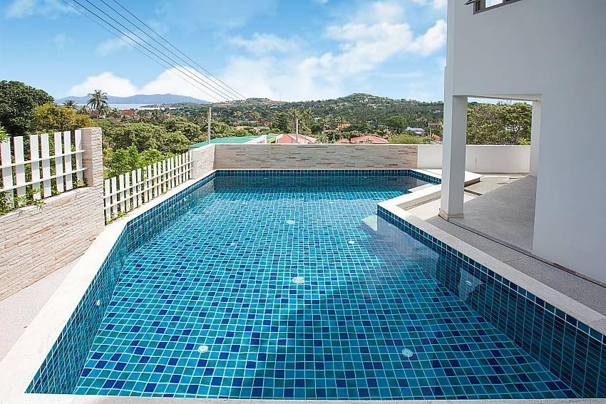 Swimming pool Villa Ajay Samui in Plai Laem Koh Samui