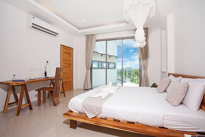 Bedroom Villa Ajay Samui in Plai Laem Koh Samui