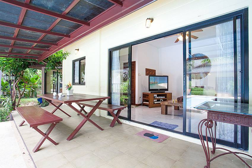 3. house with dining terrace at Villa Damini Koh Samui Thailand