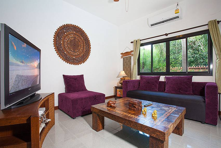 living area in 3. bedroom at Villa Damini Laemset Samui