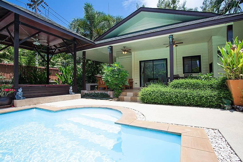 Main House by the pool at Villa Damin Laemset Koh Samui