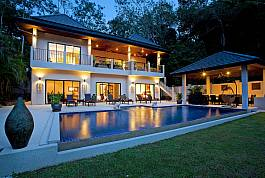 Large 6BR Pool Villa with Outdoor Dining Area Nai Harn Phuket