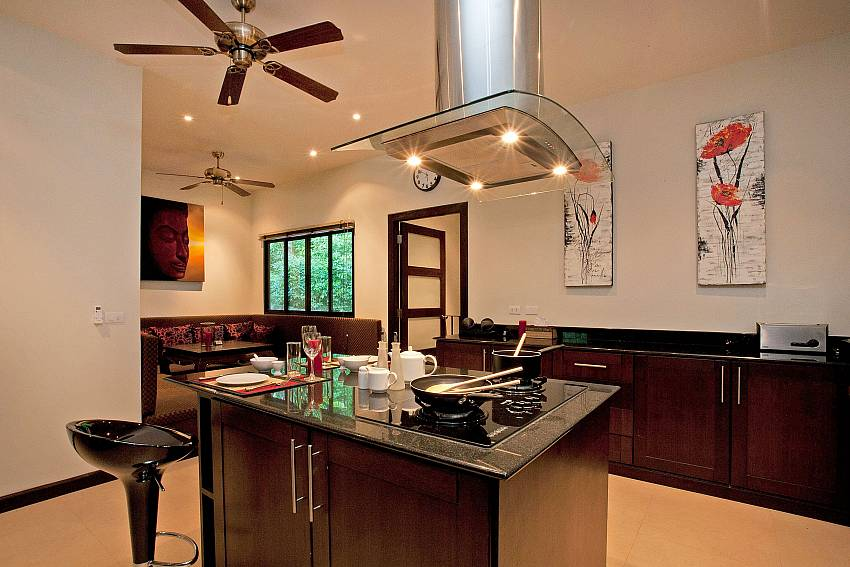 Central Cooking area-pagarang-villa_6-bedroom_luxury-pool-villa_nai-harn_phuket_thailand