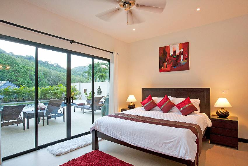 Second Downstairs Master Bedroom-pagarang-villa_6-bedroom_luxury-pool-villa_nai-harn_phuket_thailand