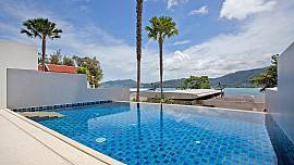 Villa Atika A3 2Br Duplex With Private Pool and Seaviews in Patong Phuket