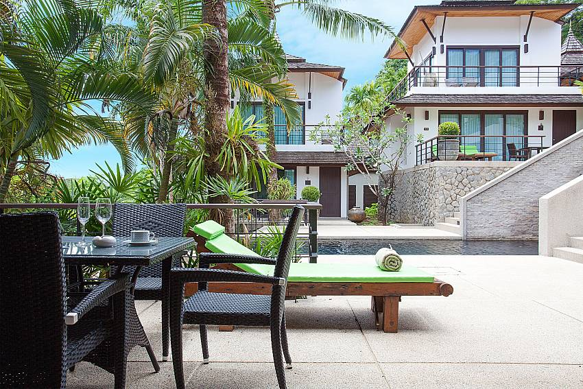 Outdoor space of Nirano Villa 25 in Kathu Phuket