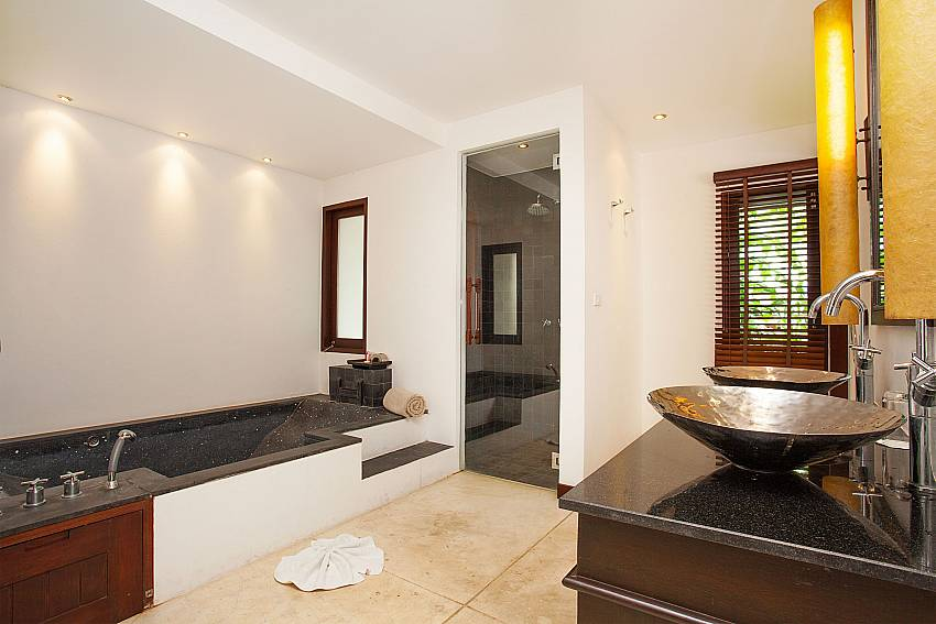 Master Bathroom of Nirano Villa 25 in Kathu Phuket