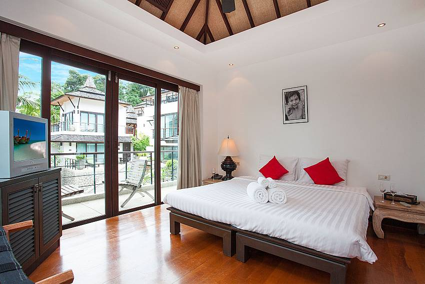 Double bed in 2. bedroom of Nirano Villa 25 Phuket