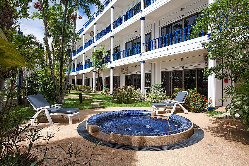 Relax at the communal jacuzzi at Apartment Khuno 103 in Kamela Phuket