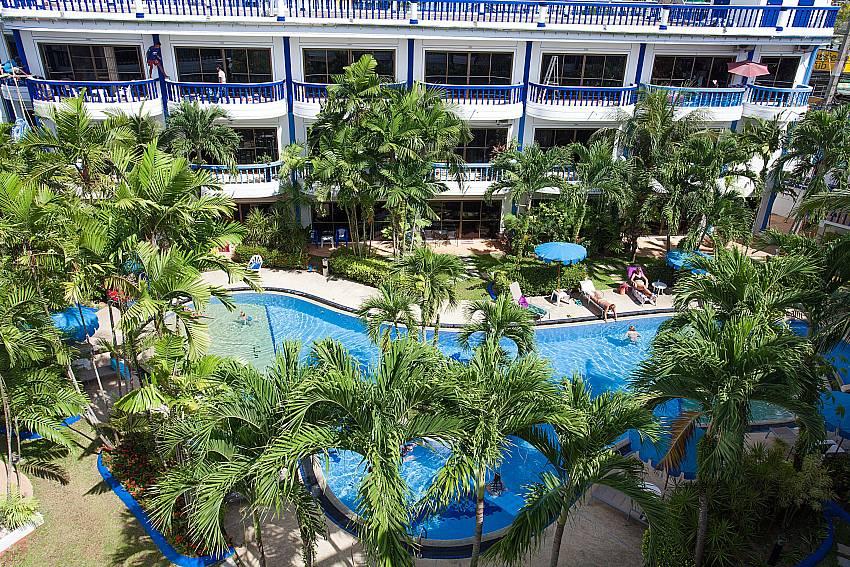 Apartment house with communal pool Apartment Khuno 103 Kamala Phuket