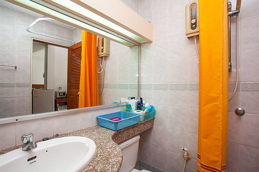 Hot water shower in the Apartment Khuno 203 Westphuket