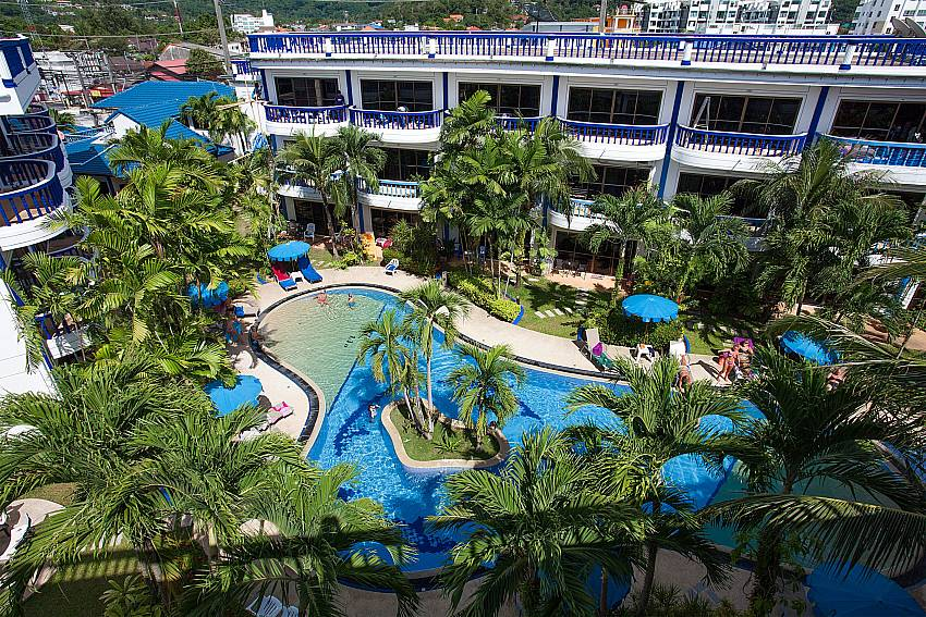 Huge communal pool at Apartment Khuno 203 Phuket