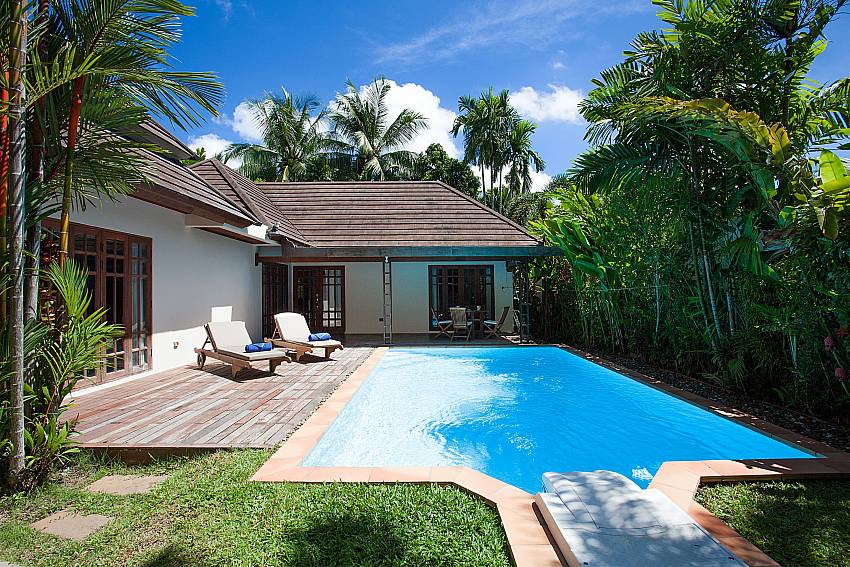 Private Pool with sundeck at Villa Armorela 201 in Phuket
