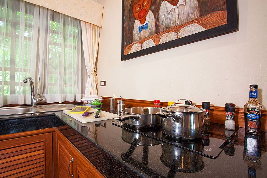European kitchen at Villa Armorela 201 in West-Phuket