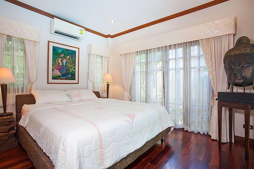 Guest bedroom at Villa Armorela 201 in Bang Tao West-Phuket