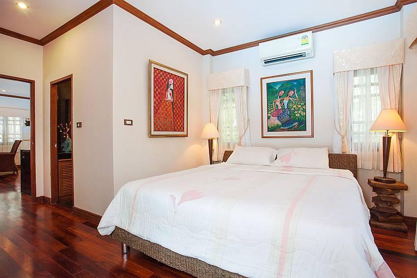 Kingsize bed in 2. bedroom of Villa Armorela 201 in Phuket