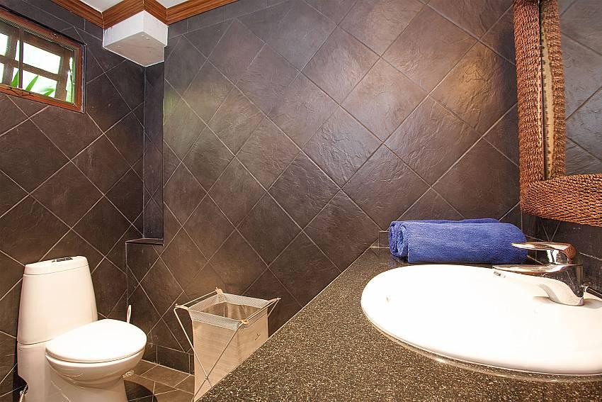 master en-suite bathroom at Villa Armorela 201 in West Phuket