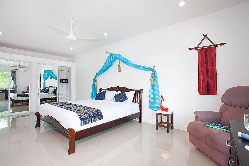 1. bedroom of Big Buddha Hill Villa 2 in Chalong Phuket