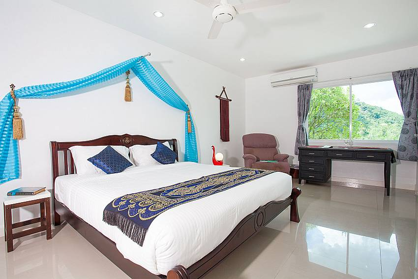 1. bedroom with kingsize bed at Big Buddha Hill Villa 2 Phuket