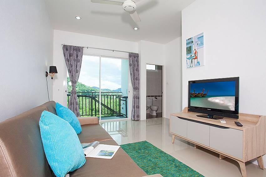 Living room of 2. bedroom at Big Buddha Hill Villa 2 Phuket