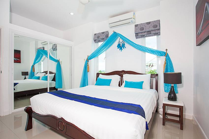 2. king size bedroom at Big Buddha Hill Villa 2 Phuket