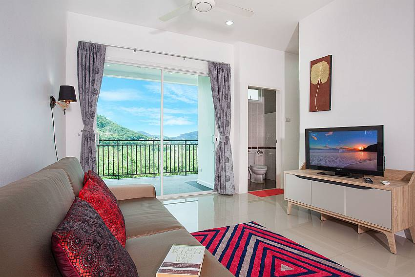 Lounge of 4. bedroom in Big Buddha Hill Villa 2 Phuket