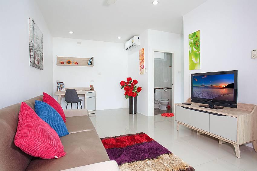 Living area of 6. bedroom at Big Buddha Hill Villa 2 Phuket