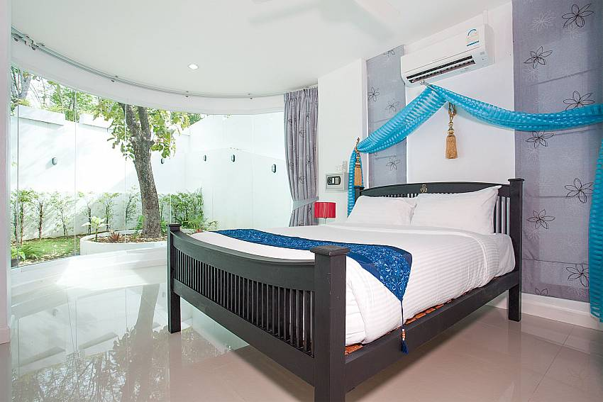 8. king-size bedroom of Big Buddha Hill Villa 2 in Phuket
