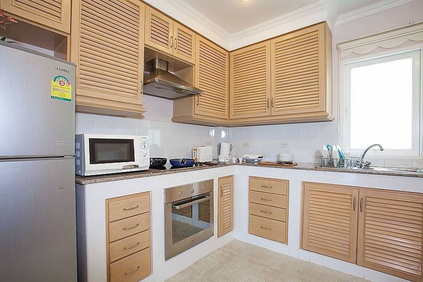 European style kitchen at Manuae Condo 202 in Karon Westphuket