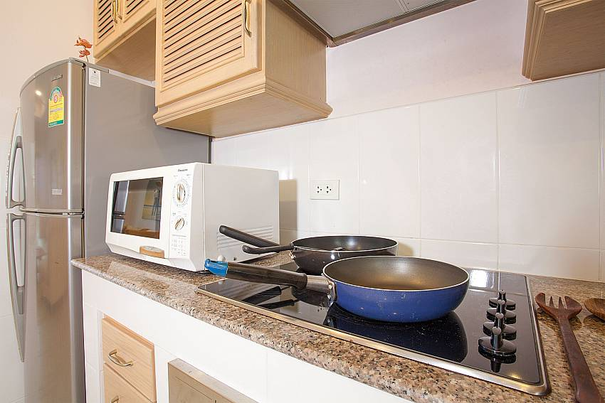 Western style kitchen at Manuae Condo 202 in Phuket
