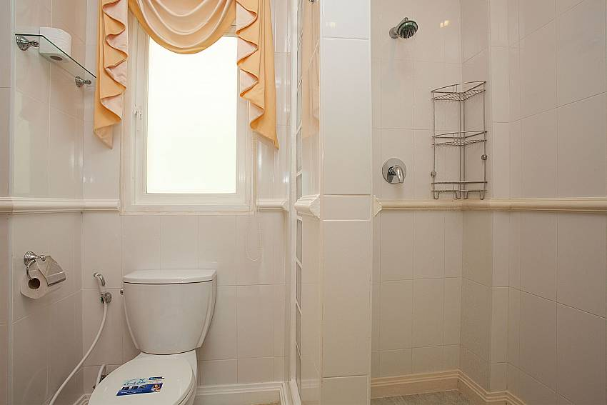 Guest bathroom at Manuae Condo 202 in Karon Phuket