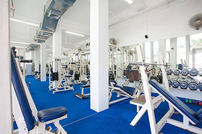 Gym for guest of Manuae Condo 202 in Karon Phuket