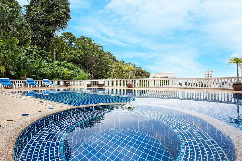 Manuae Condo 202 with communal pool at Phuket